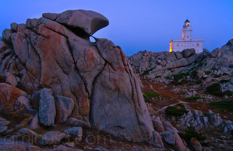 Leuchtturm, Lighthouse, Sardinien