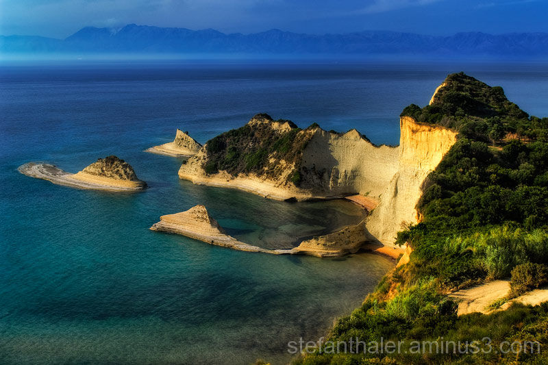Peroulades, corfu, Korfu, Griechenland