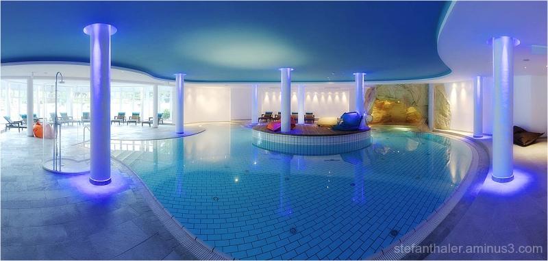 Brandlhof, pool