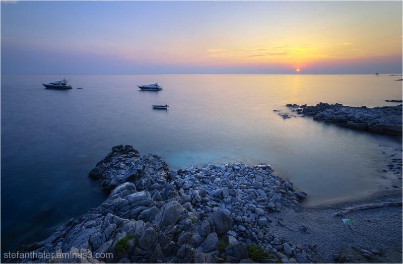 sonnenuntergang, kalabrien,Calabria - Sunset