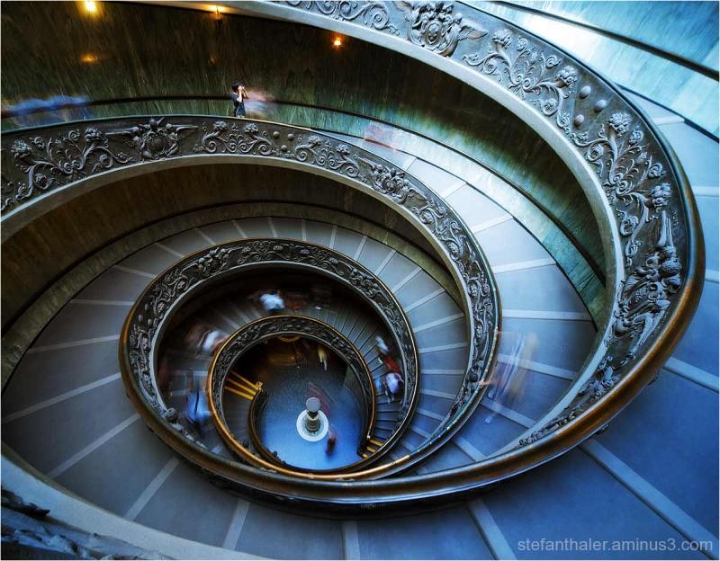 The Photographer, Treppenbild, Vatikan