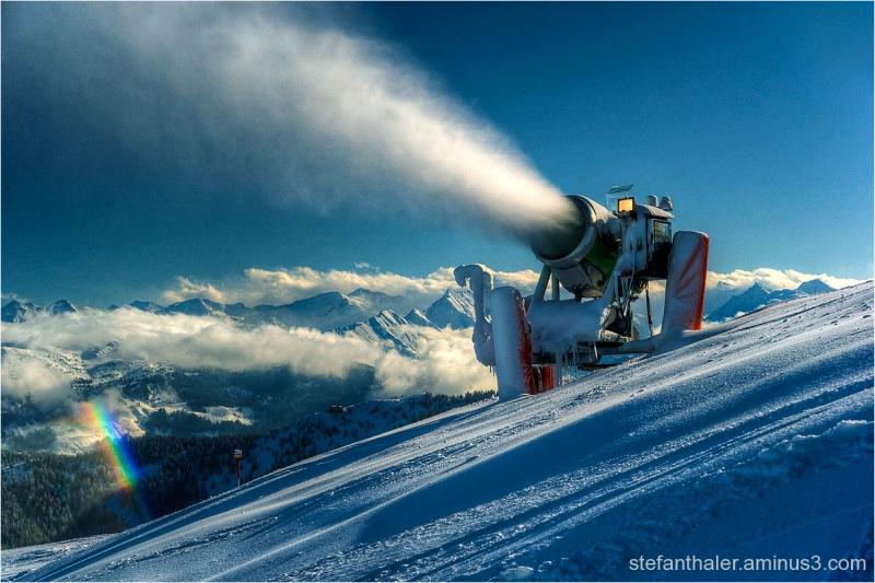 snow making machine