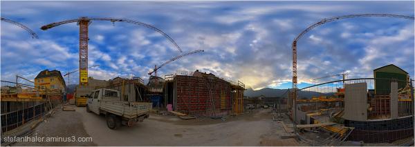baustelle, construction area
