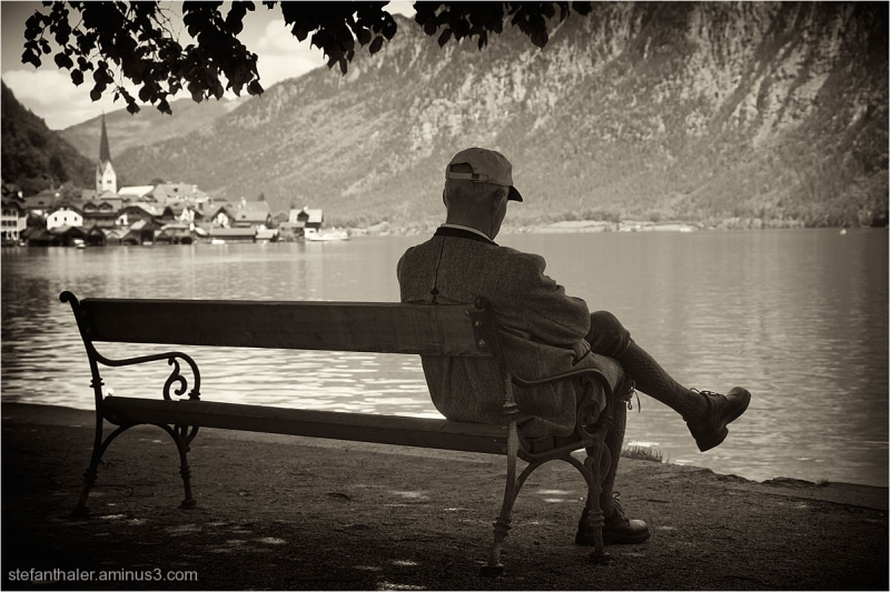 Hallstatt, Pension, Ruhestand, old man