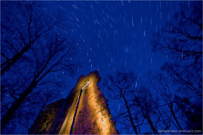Sternenspuren, Sterne, Stars, Night,