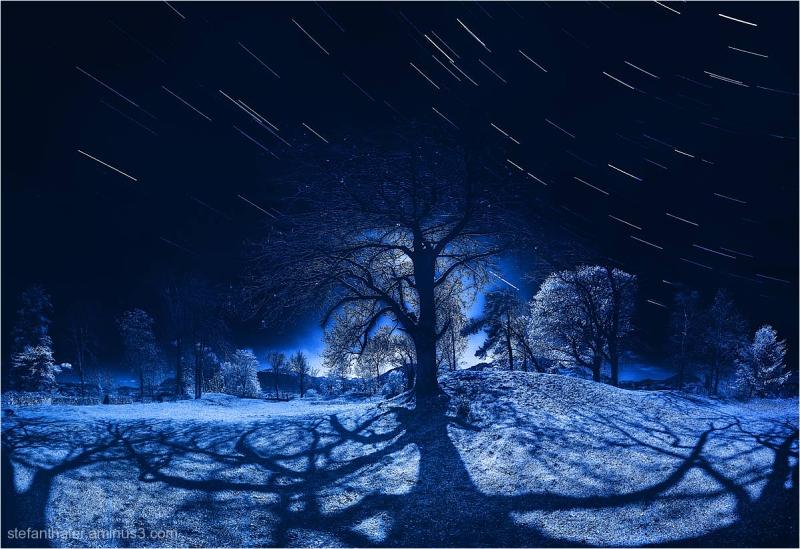 Sternenspuren, startrails