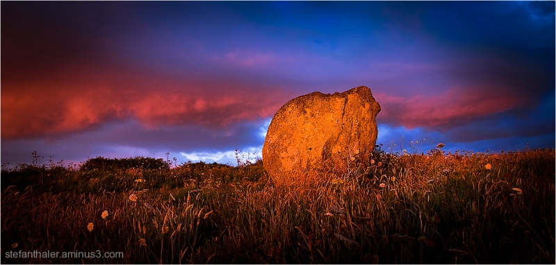 magical rock, magischer Felsen
