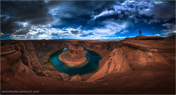 Horseshoe Bend , Horseshoe Bend  panorama