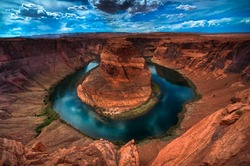 Horseshoe Bend 3D