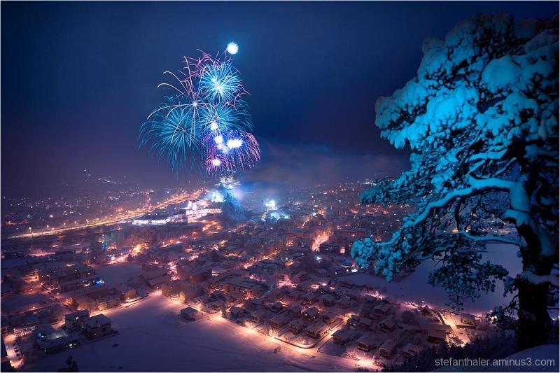 vorsilvester kufstein, happy new year, feuerwerk