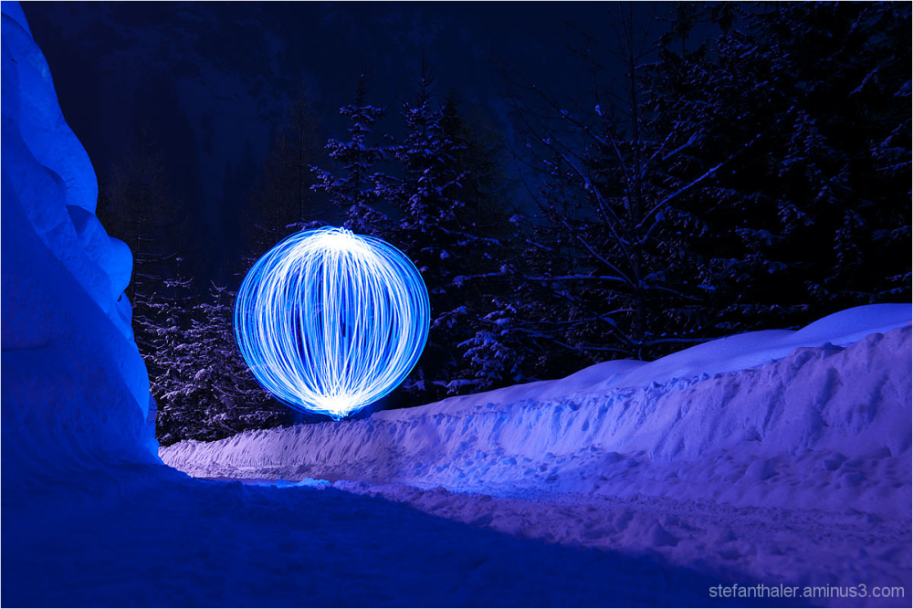 lapp, light painting