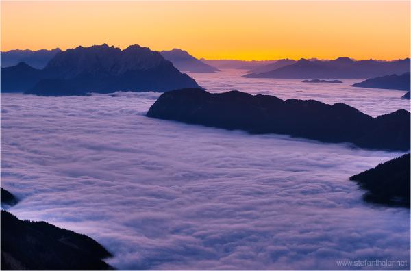 clouds, sea of clouds
