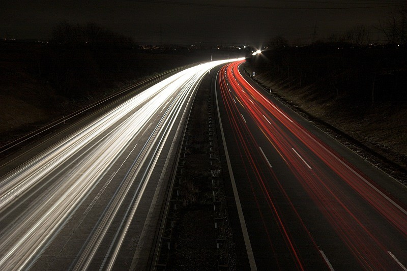 rushing the autobahn A81