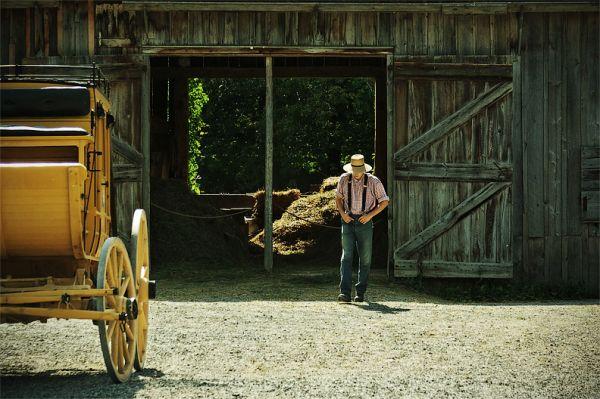 Trip to 1860: Cowboy