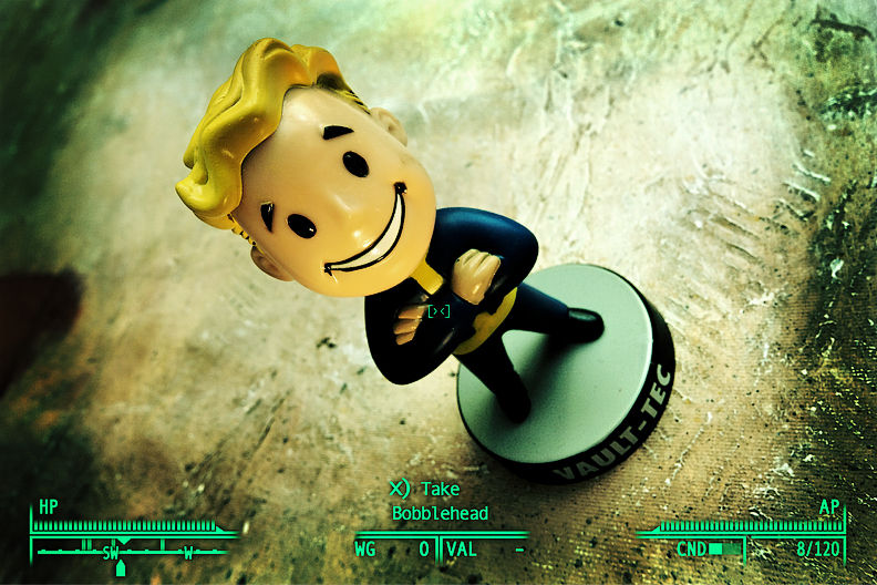 My Pip-Boy Bobblehead