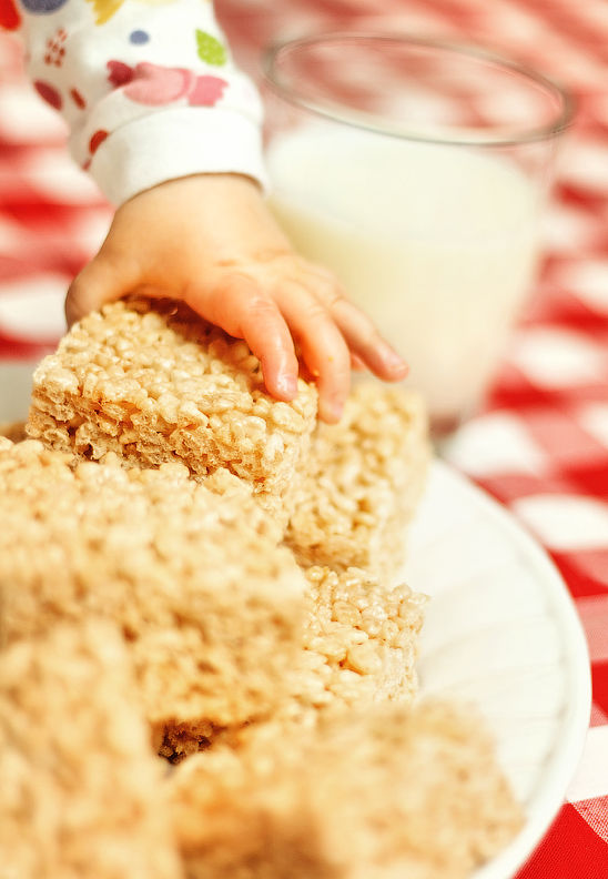 Alexia & The Rice Krispies Squares