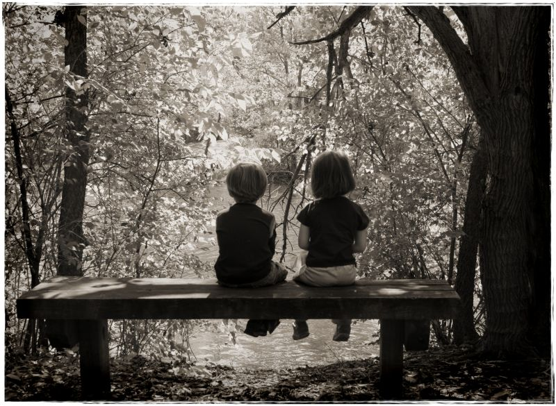 little people black-white