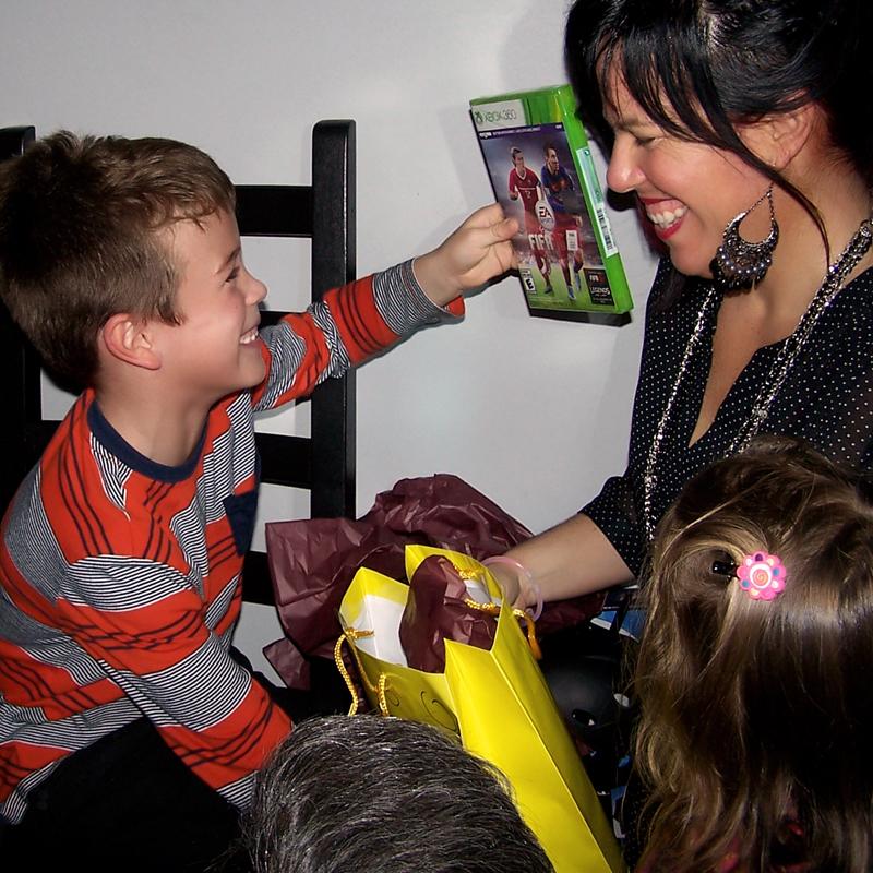le bonheur contagieux des enfants