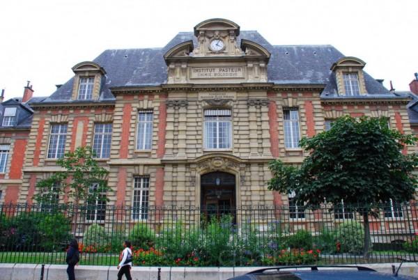 l'institut Pasteur à Paris