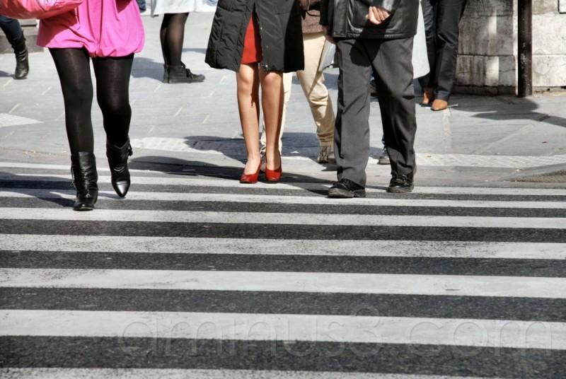jambes, leg, women, trottoir