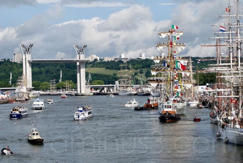 Armada, Rouen, Bateau, Mer