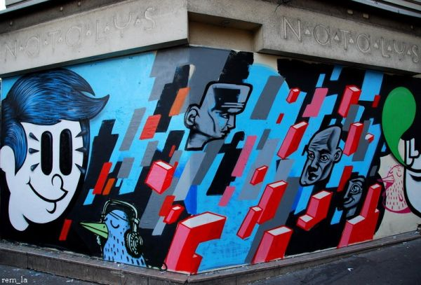 collage,tag,beaubourg,paris