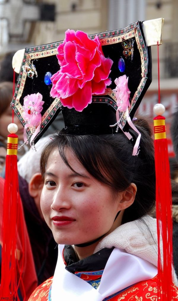 defile,chinois,masque,carnaval,paris
