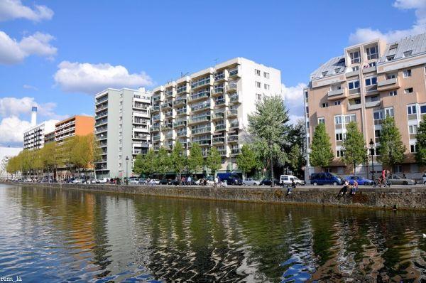 ourcq,canal,immeuble,paris