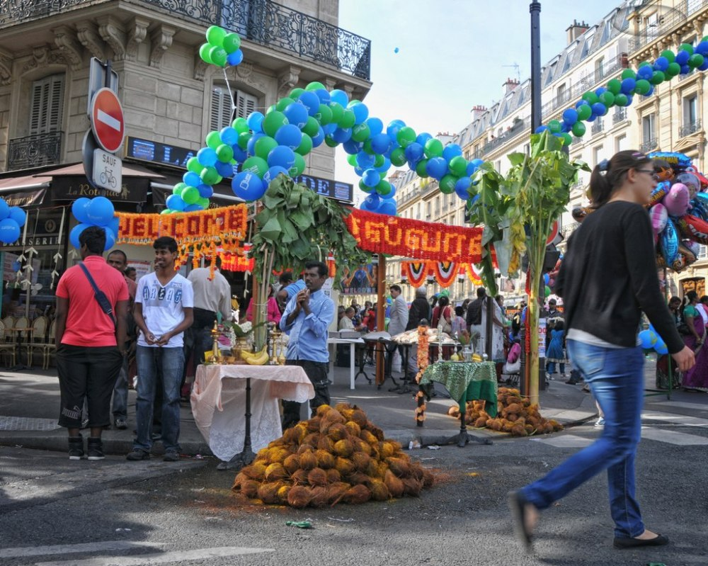 ganesh,fete,religion,paris,portrait