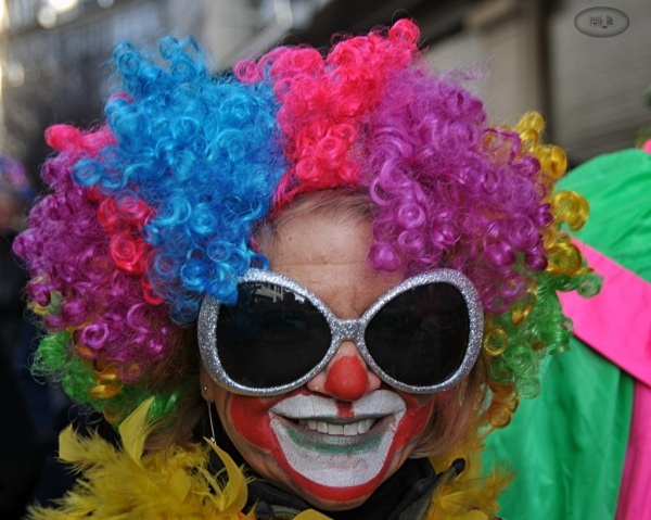 defilé,chinois,paris,costume,fete,clown