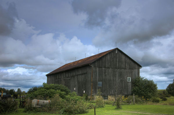 Barn At The Edge Of Town