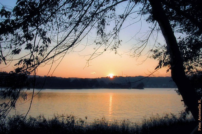 Sunset over Lago Maggiore