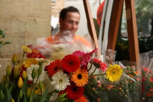 Flores del mercado