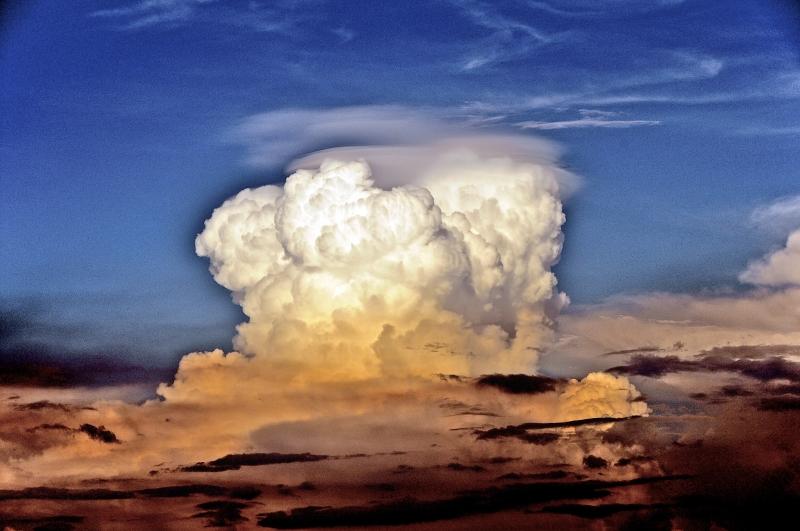Cumulus Clouds Guatemala