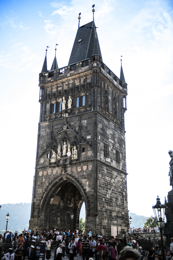 Charles Bridge Tower Entrance Old Town