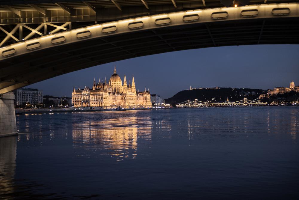 Hungarian Parliament Danube Budapest