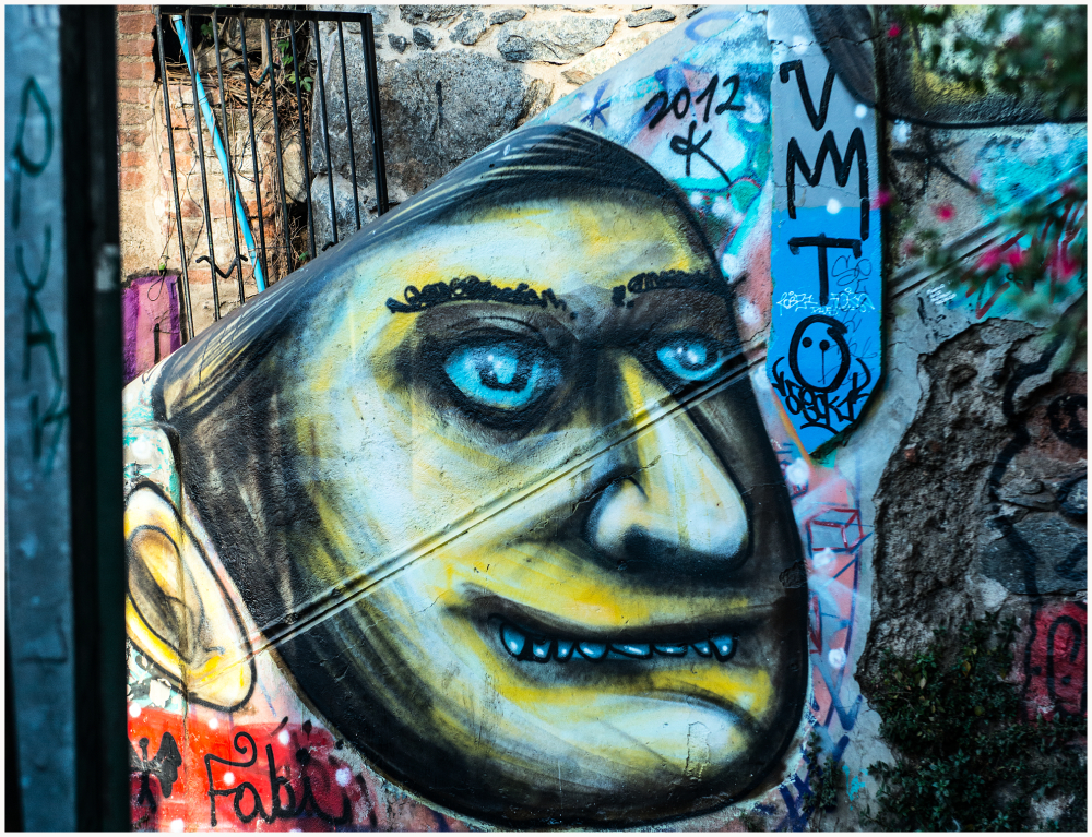 Mural Valparaiso Chile