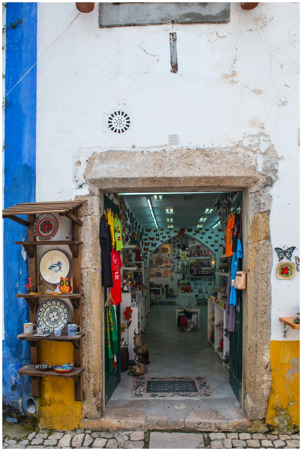 Souvenir Shop Obidos