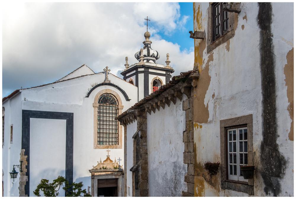 Obidos Portugal Church