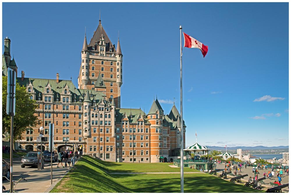 Castle Quebec Canada