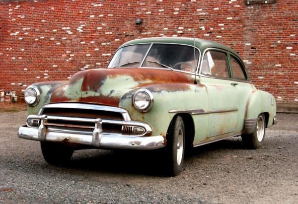 1950 Chevrolet Deluxe Styleline Sports Sedan