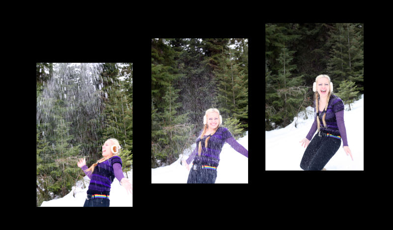 Mihaela in the Mountains 3