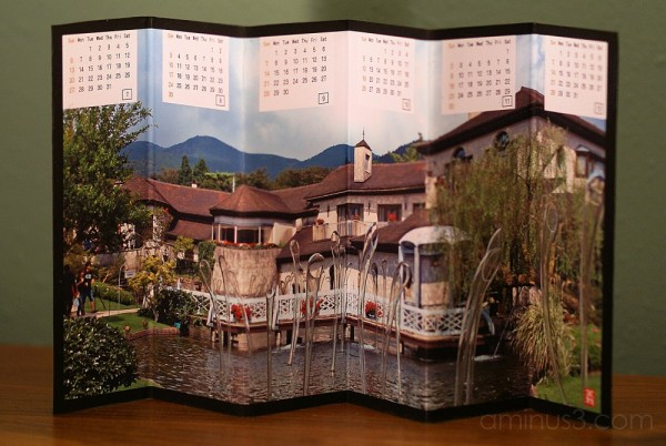 Yoshiyuki's Folding Calendar