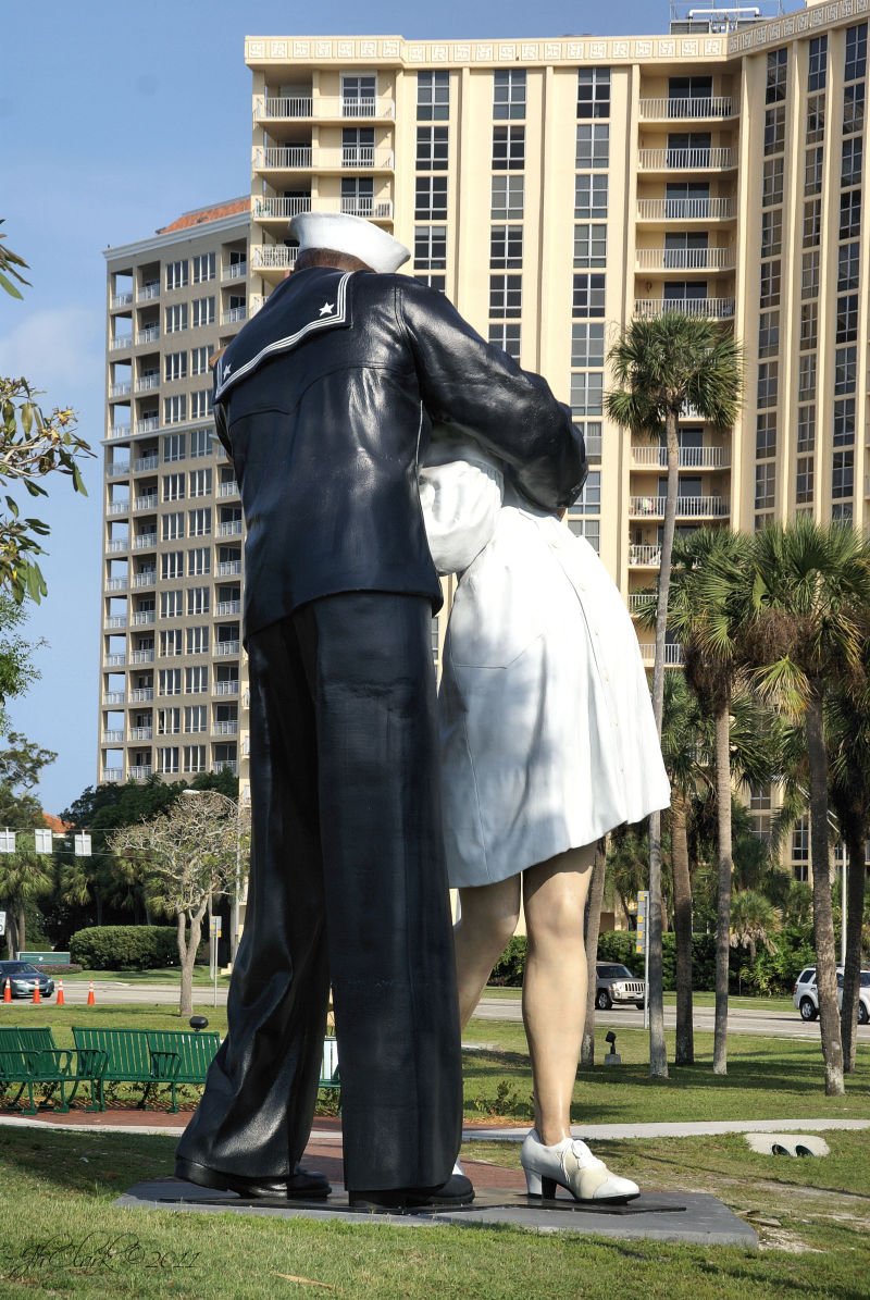 Unconditional Surrender sculpture...
