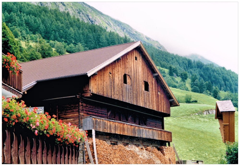 Barn in the Tyrol...