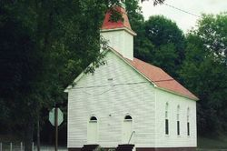 Church in Hayter's Gap, VA