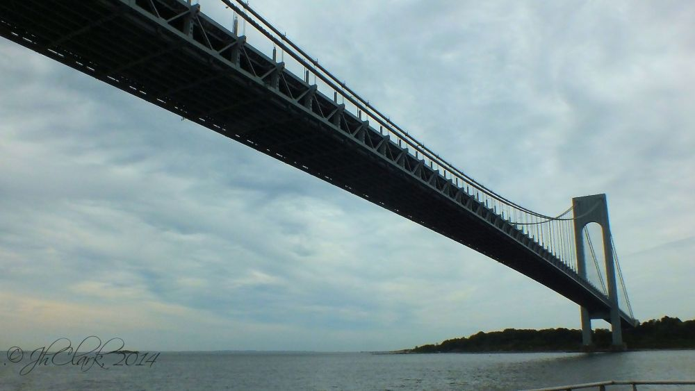 Beneath the Verrazano...