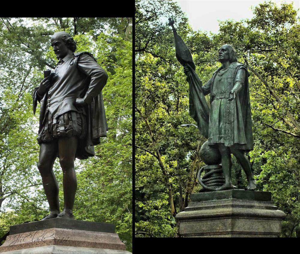 William Shakespeare & Christopher Columbus ...