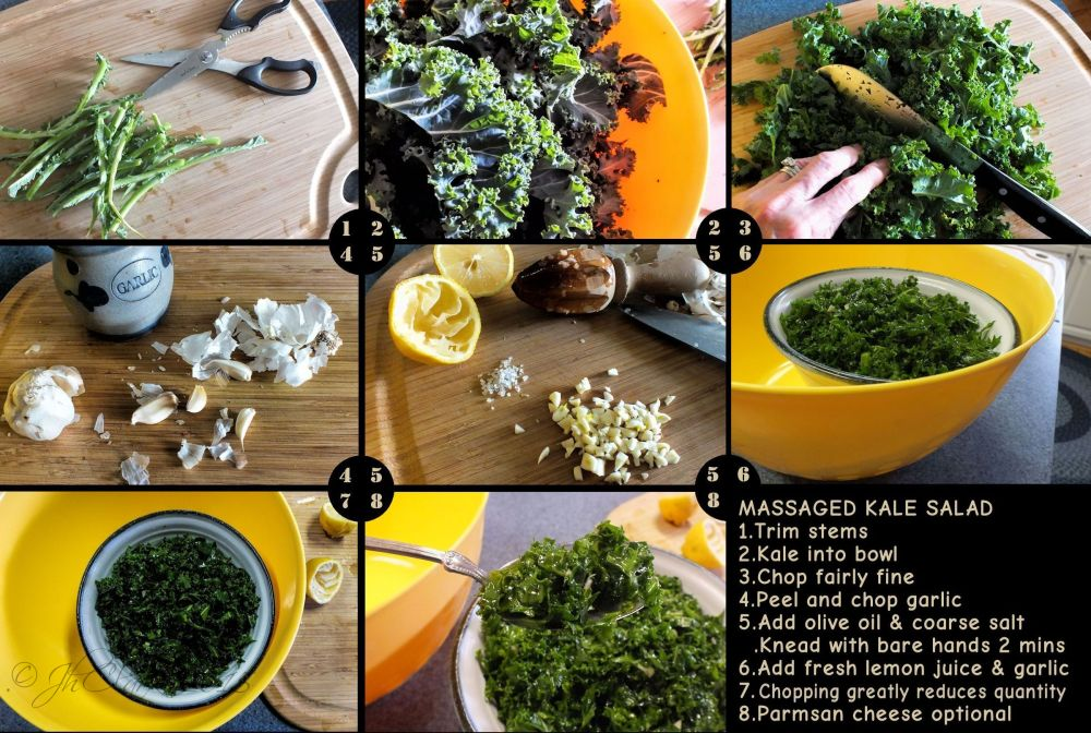 Massaged Kale Salad...
