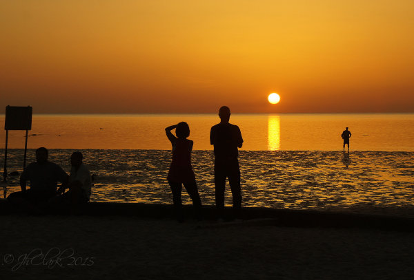 Sunset at Pine Island 3/4
